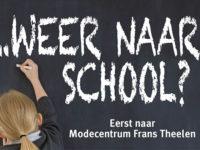 Weer naar school actie