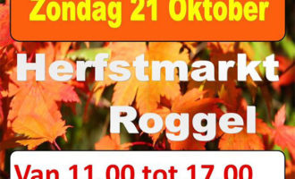 Herfstmarkt Roggel op zondag 21 oktober